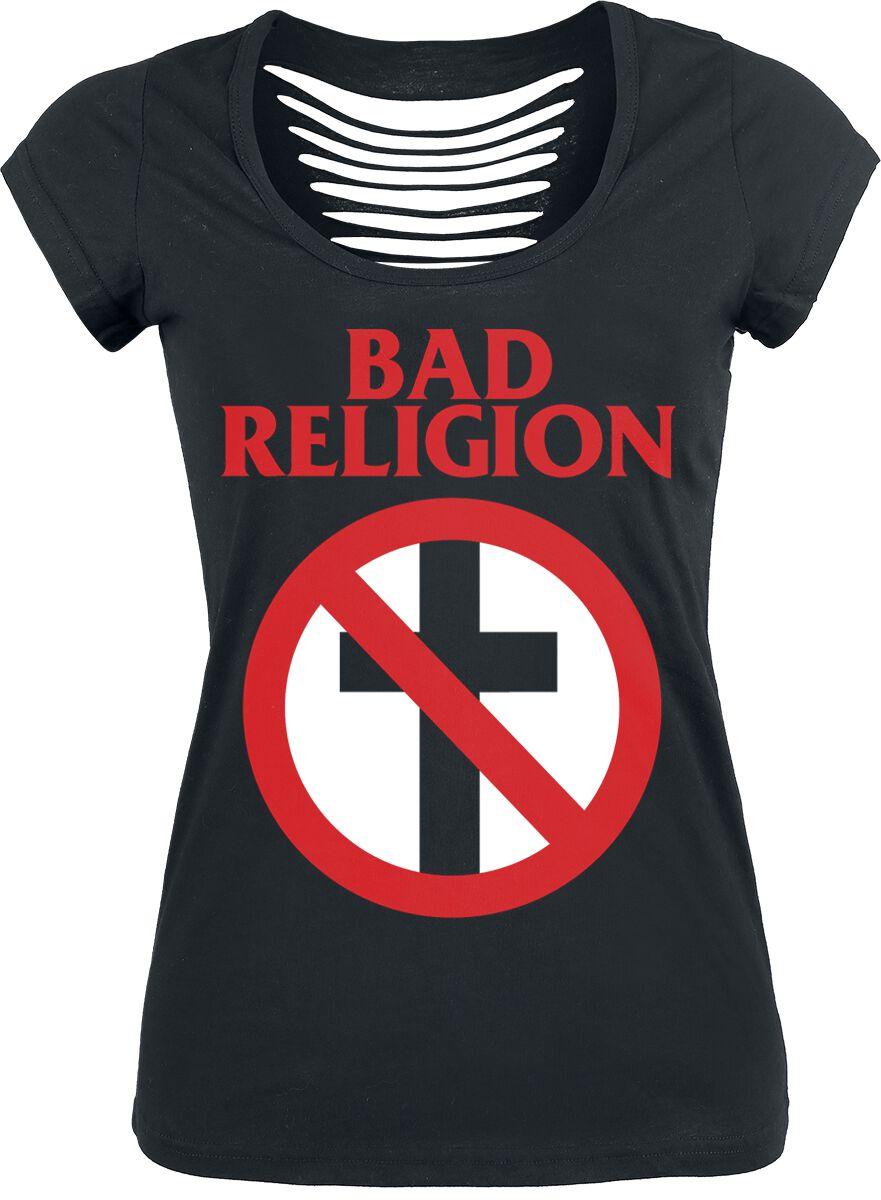 Zespoły - Koszulki - Koszulka damska Bad Religion Classic Buster Koszulka damska czarny - 355547