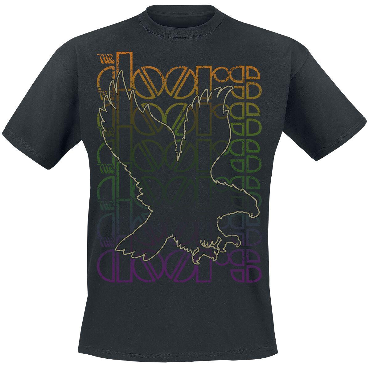 Zespoły - Koszulki - T-Shirt The Doors Landing T-Shirt czarny - 355553