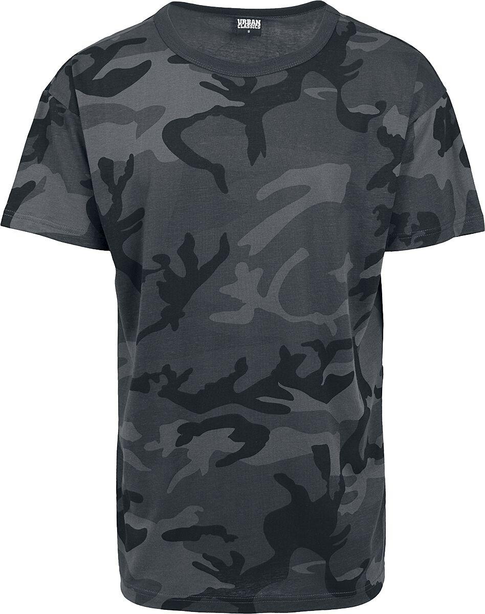 Image of   Urban Classics Camo Oversized Tee T-Shirt mørk camo
