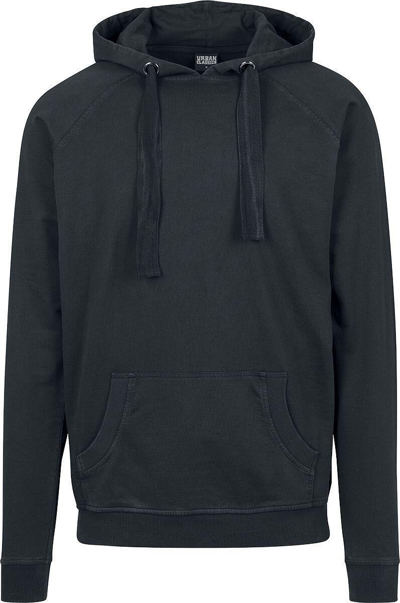 Image of   Urban Classics Garment Washed Terry Hoodie Hættetrøje mørk grå