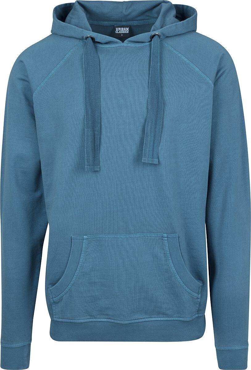 Image of   Urban Classics Garment Washed Terry Hoodie Hættetrøje petrol