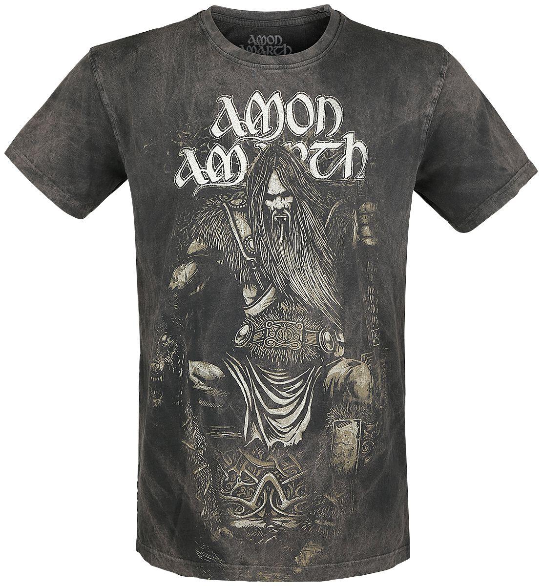 Image of   Amon Amarth Thor T-Shirt mørk grå