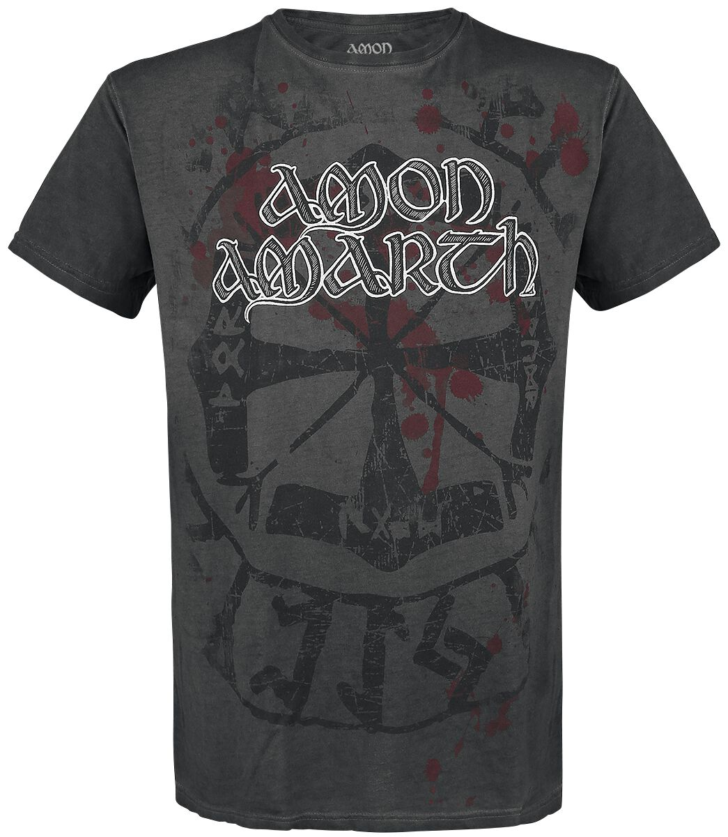 Image of   Amon Amarth Viking Circle T-Shirt antracit