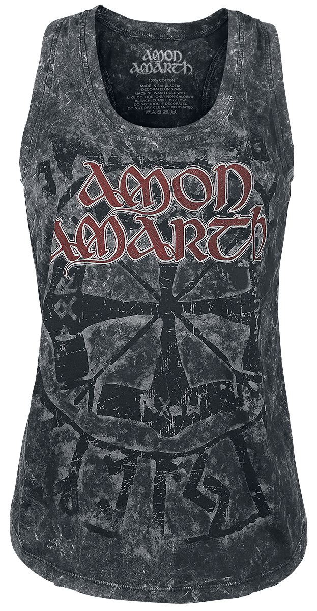 Image of   Amon Amarth Viking Circle Girlie top sort