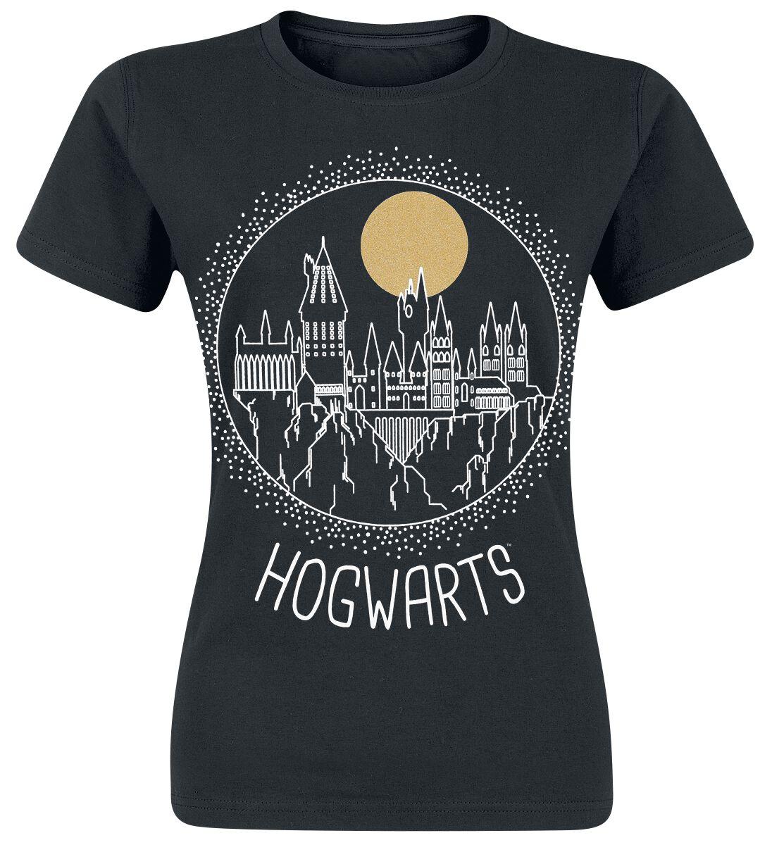 Image of   Harry Potter Circular Hogwarts Girlie trøje sort