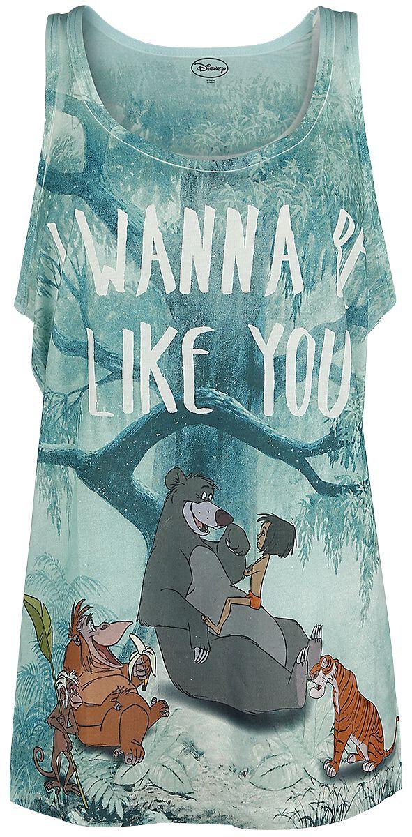 Merch dla Fanów - Topy - Top damski The Jungle Book I Wanna Be Like You Top damski wielokolorowy - 355811