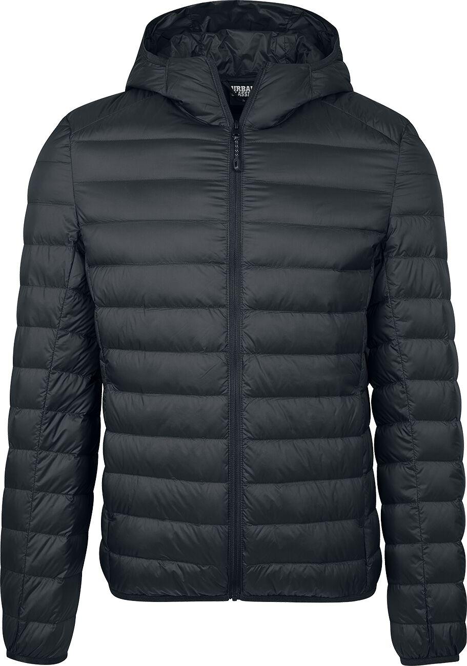 Image of   Urban Classics Basic Hooded Down Jacket Jakke sort