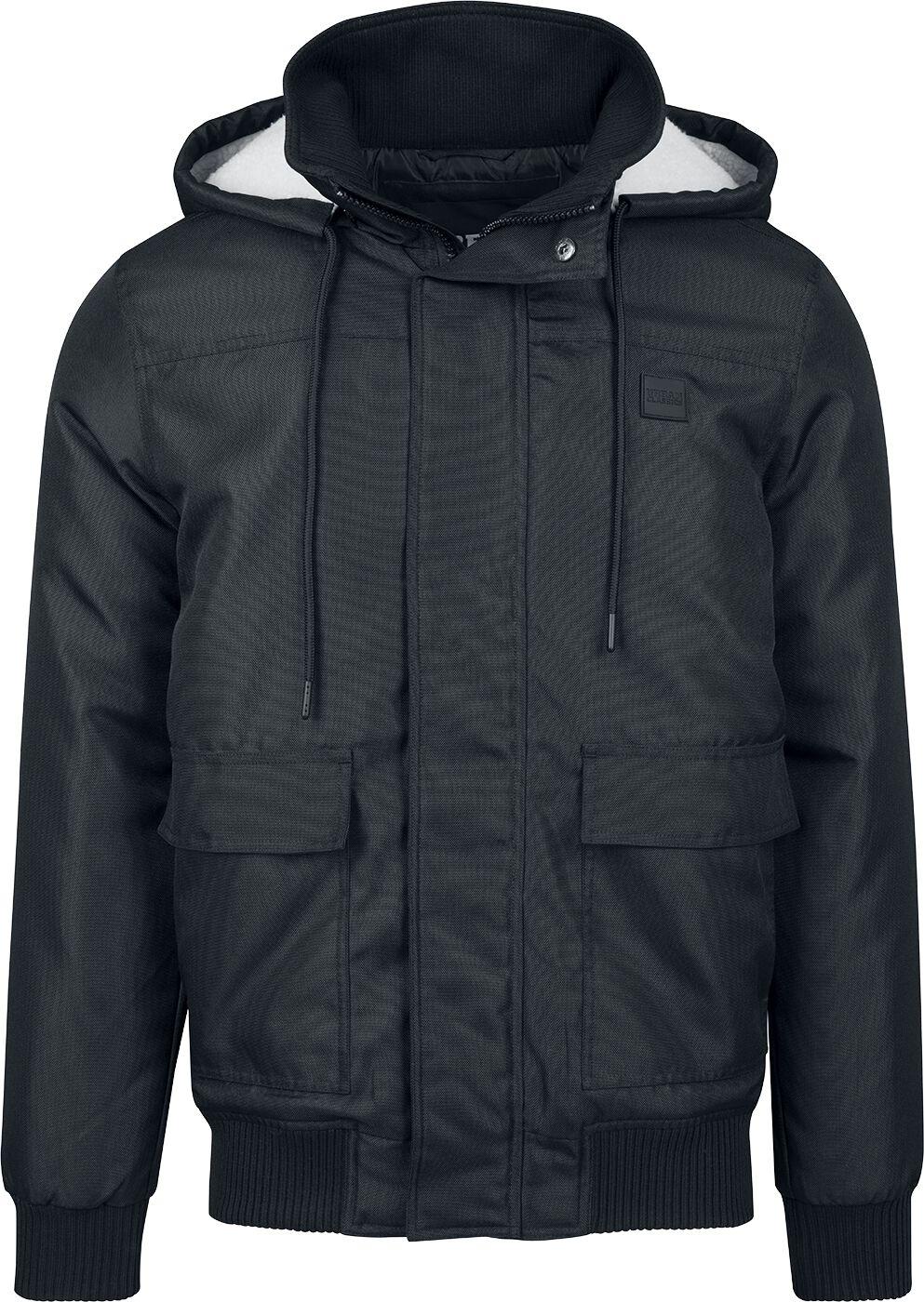Image of   Urban Classics Heavy Hooded Jacket Jakke sort