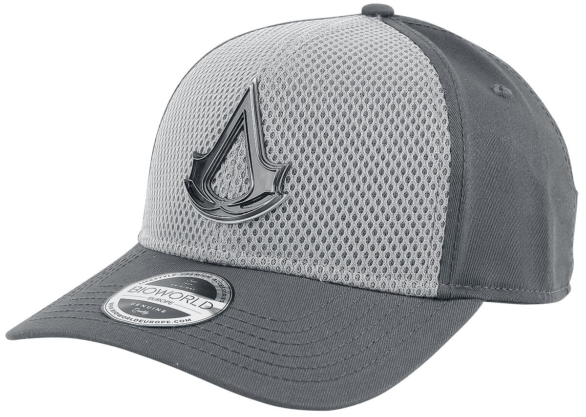 Image of   Assassin's Creed Metal Crest Logo Baseball Cap multifarvet