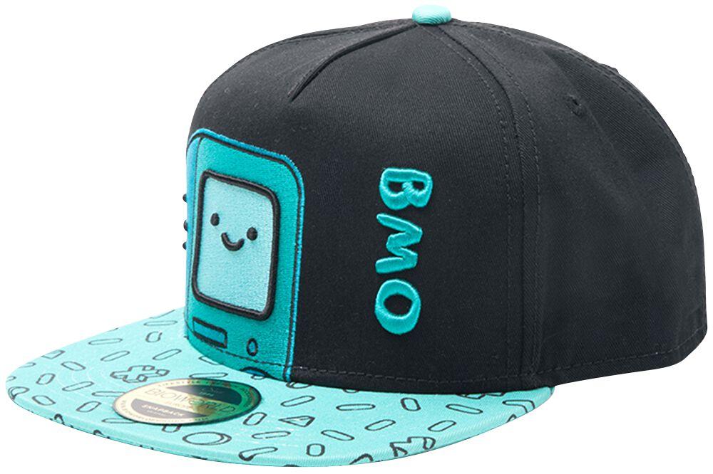 Adventure Time BMO Snapback-Cap Mehrfarbig