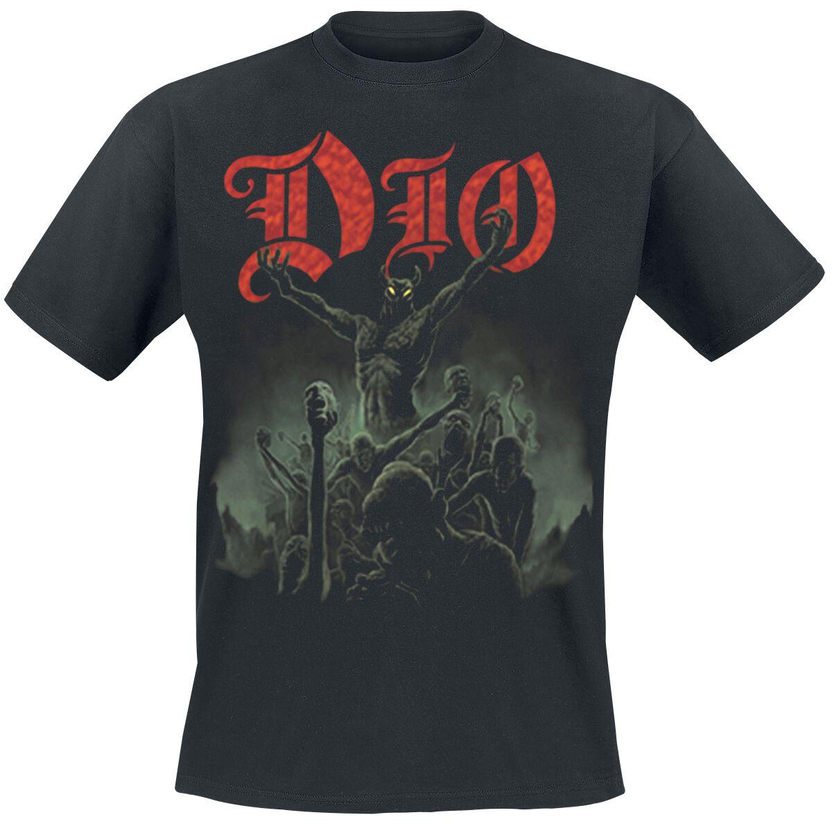 Zespoły - Koszulki - T-Shirt Dio Stand Up And Shout T-Shirt czarny - 355905