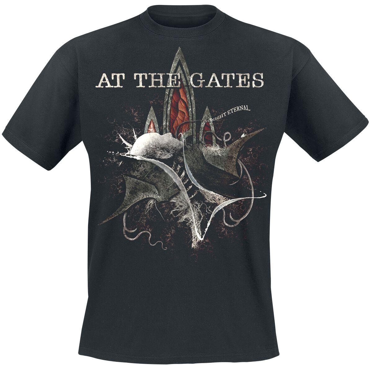 Zespoły - Koszulki - T-Shirt At The Gates The Night Eternal T-Shirt czarny - 355934