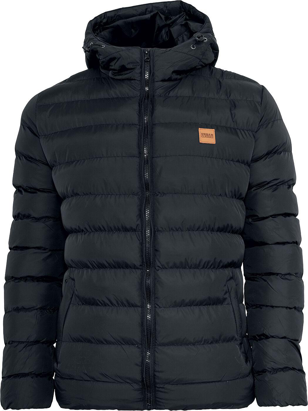 Image of   Urban Classics Basic Bubble Jacket Jakke sort