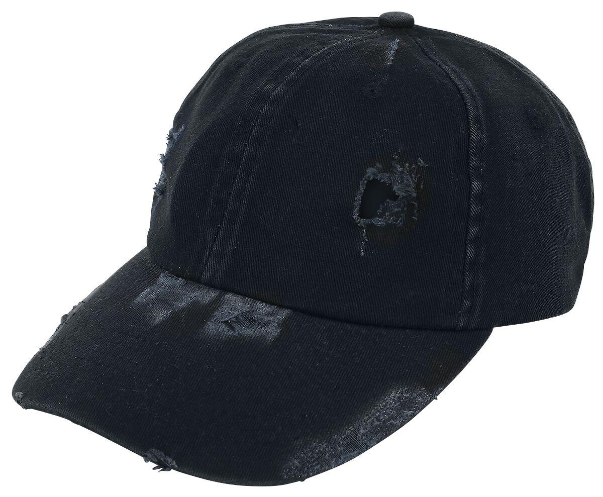 Basics - Czapki i Kapelusze - Czapka baseballowa Baseball Cap Vintage Czapka baseballowa czarny - 356189