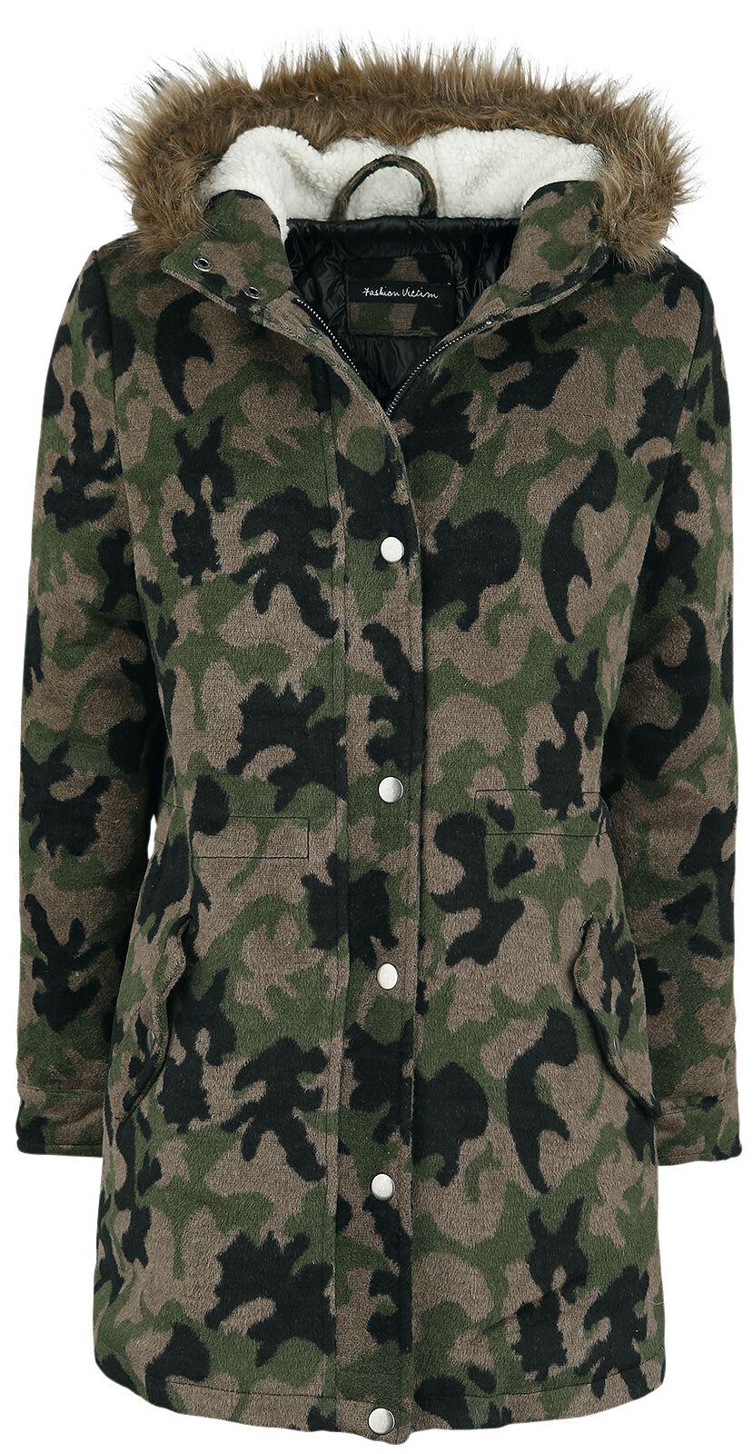Image of   Fashion Victim Camouflage Parka Girlie jakke camouflage