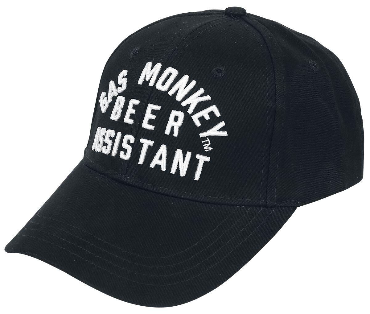 Merch dla Fanów - Czapki i Kapelusze - Czapka baseballowa Gas Monkey Garage Beer Assistant Czapka baseballowa czarny - 356215