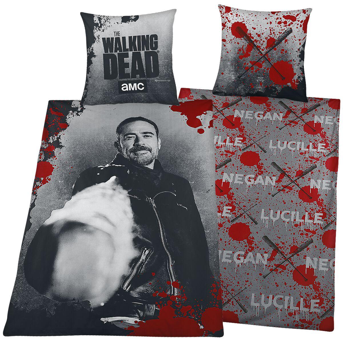Image of   The Walking Dead Negan & Lucille Sengesæt multifarvet