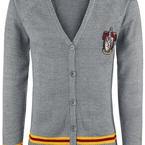Harry Potter Gryffondor Cardigan multicolore