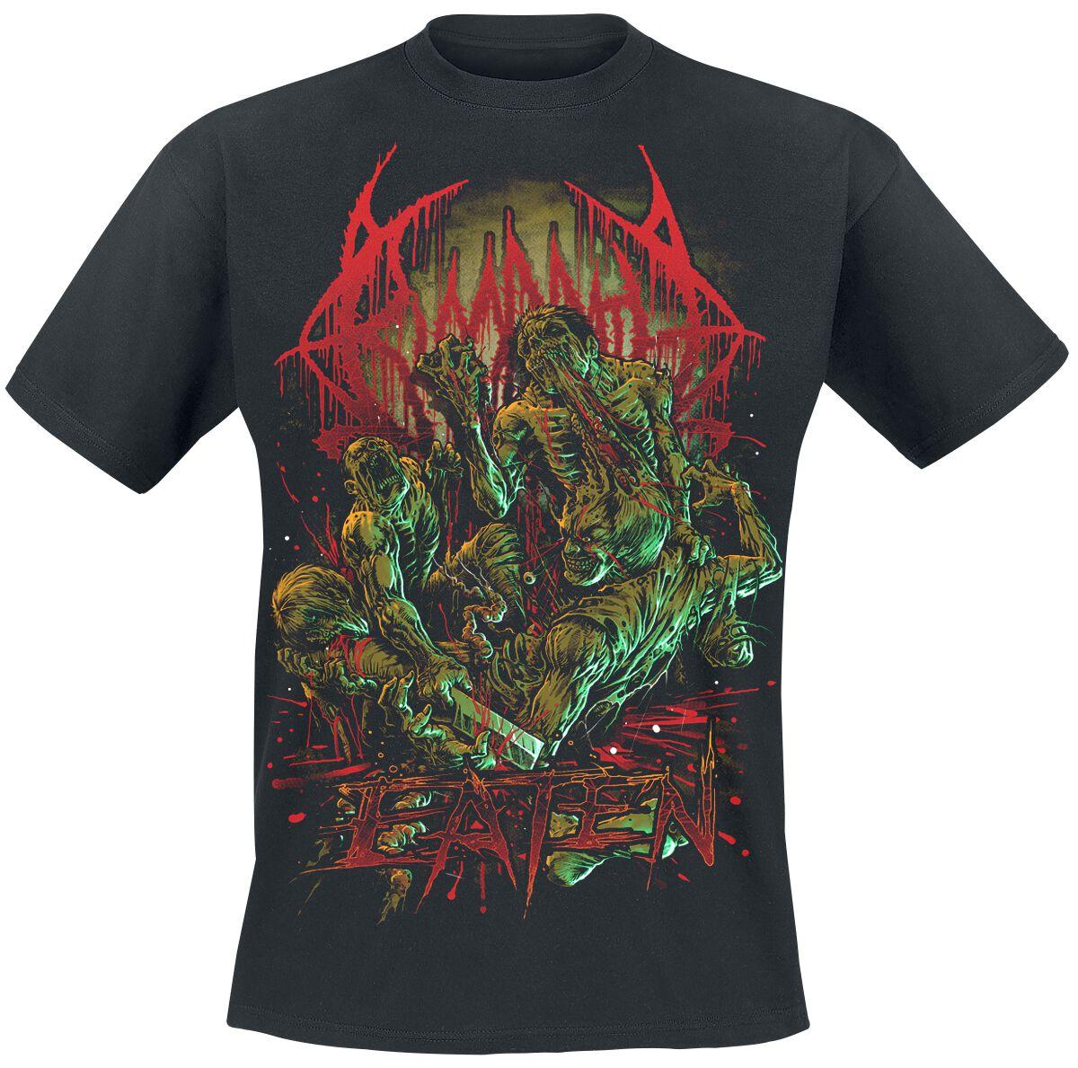 Zespoły - Koszulki - T-Shirt Bloodbath Eaten T-Shirt czarny - 356266