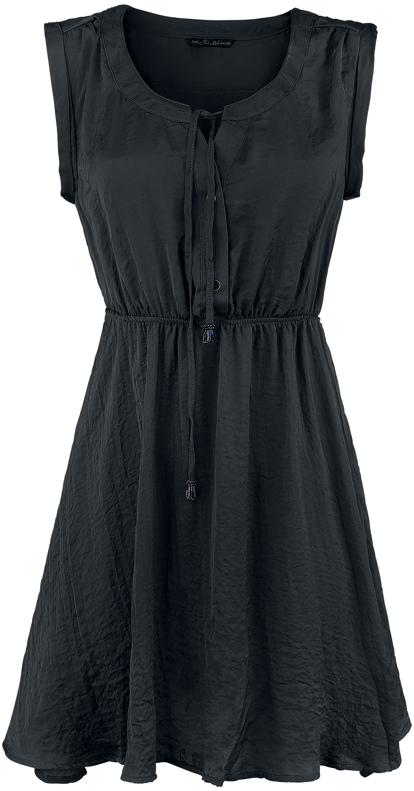 Fresh Made Button Dress Sukienka czarny