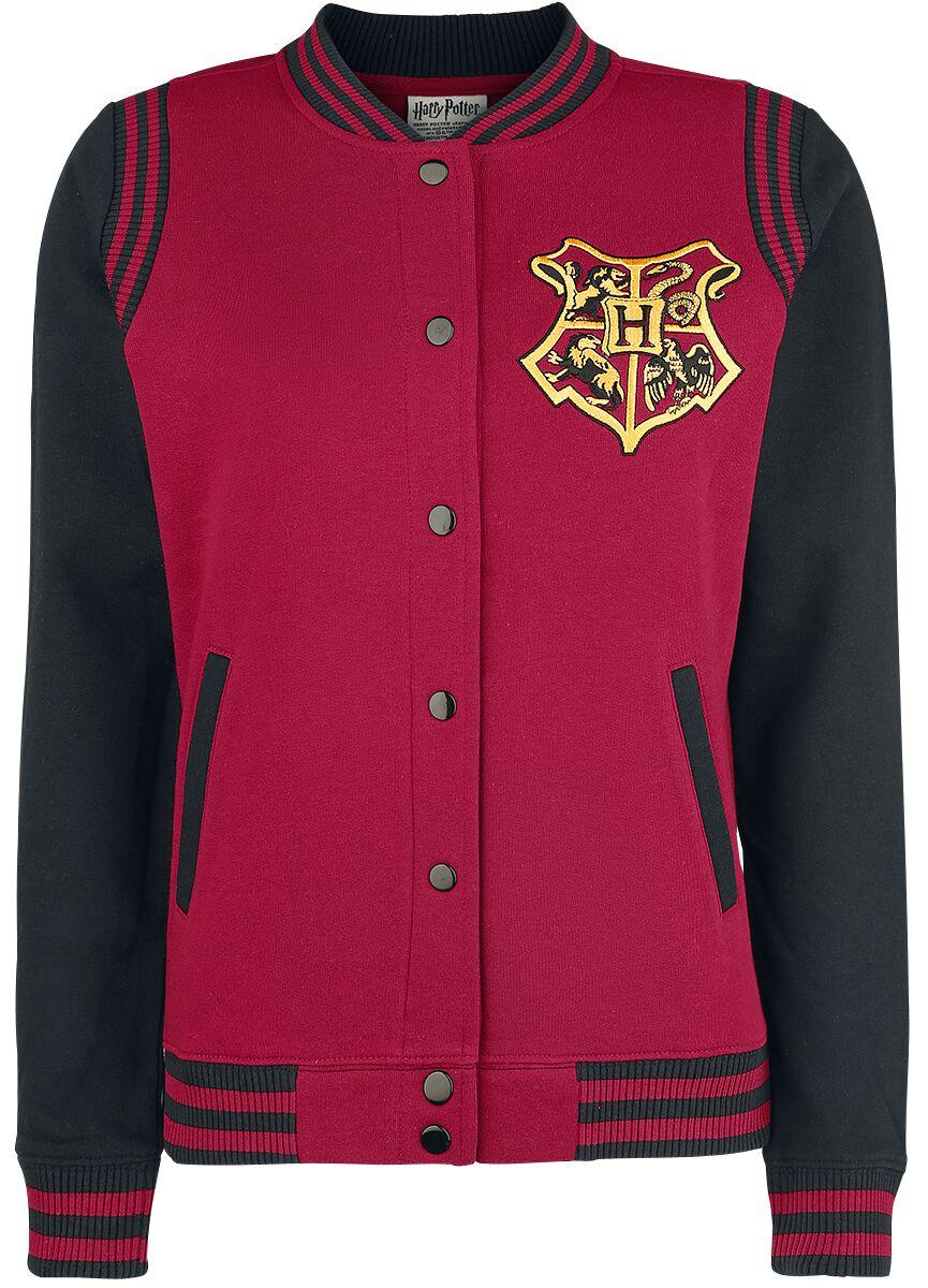 Image of   Harry Potter Gryffindor 07 Girlie college jakke rød-sort