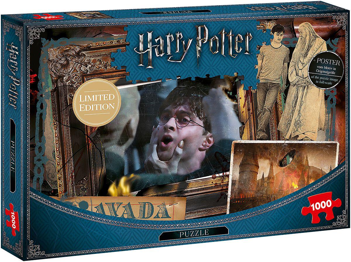 Image of   Harry Potter Avada Kedavra (1000 brikker) Puslespil & samlesæt standard