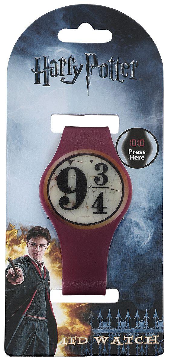 Image of   Harry Potter 9 3/4 LED ur Armbåndsur bordeaux