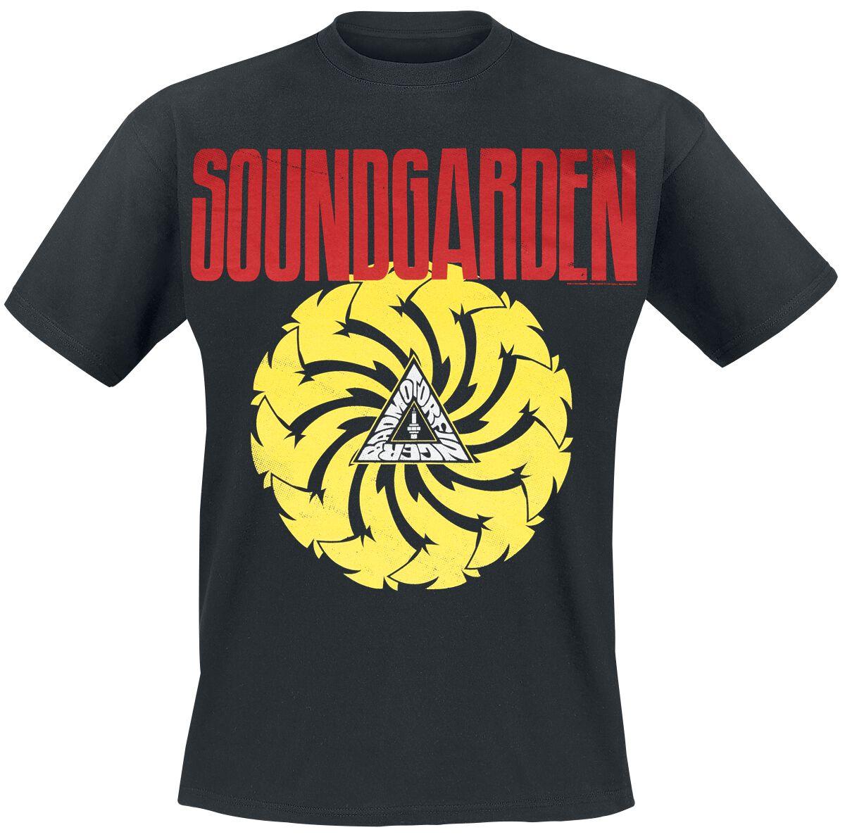 Zespoły - Koszulki - T-Shirt Soundgarden Badmotorfinger T-Shirt czarny - 356873