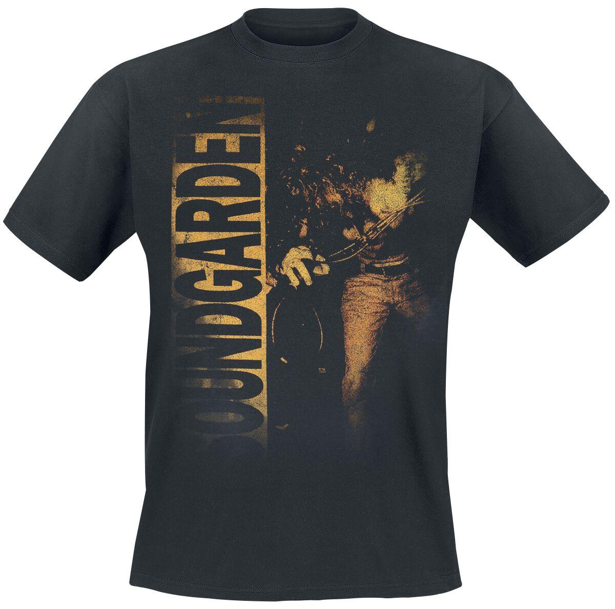 Zespoły - Koszulki - T-Shirt Soundgarden Louder Than Love T-Shirt czarny - 356876
