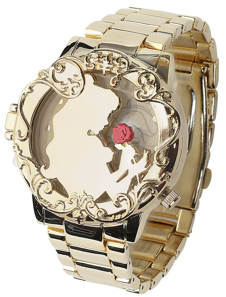Uhren für Frauen - Die Schöne und das Biest Golden Belle Armbanduhr goldfarben  - Onlineshop EMP