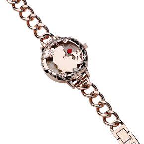La Belle Et La Bête Belle Et Ses Amis Montre bracelet couleur or