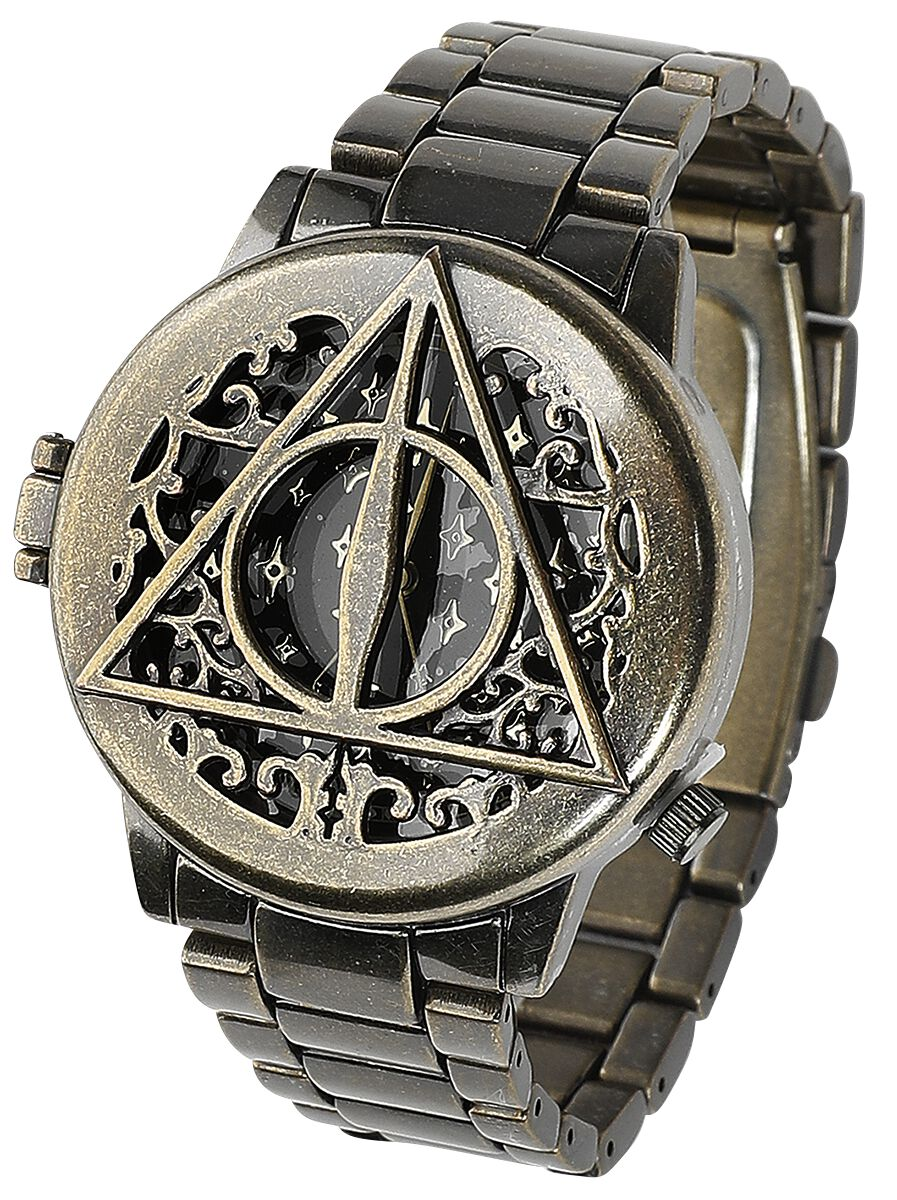Image of   Harry Potter Deathly Hallows Armbåndsur guld