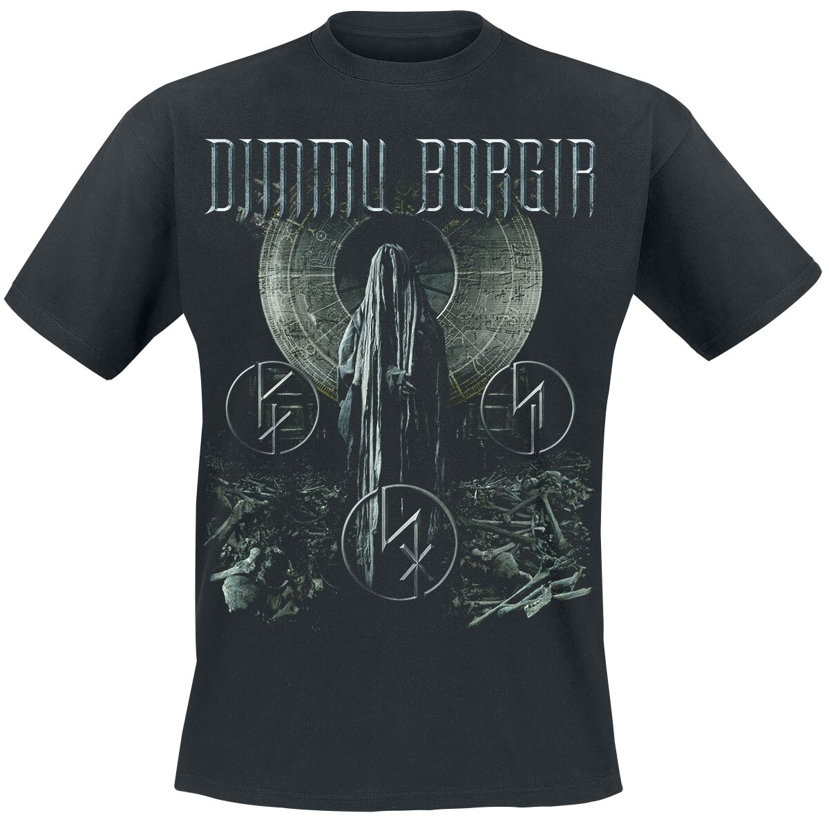 Zespoły - Koszulki - T-Shirt Dimmu Borgir Forces of the northern night T-Shirt czarny - 356895