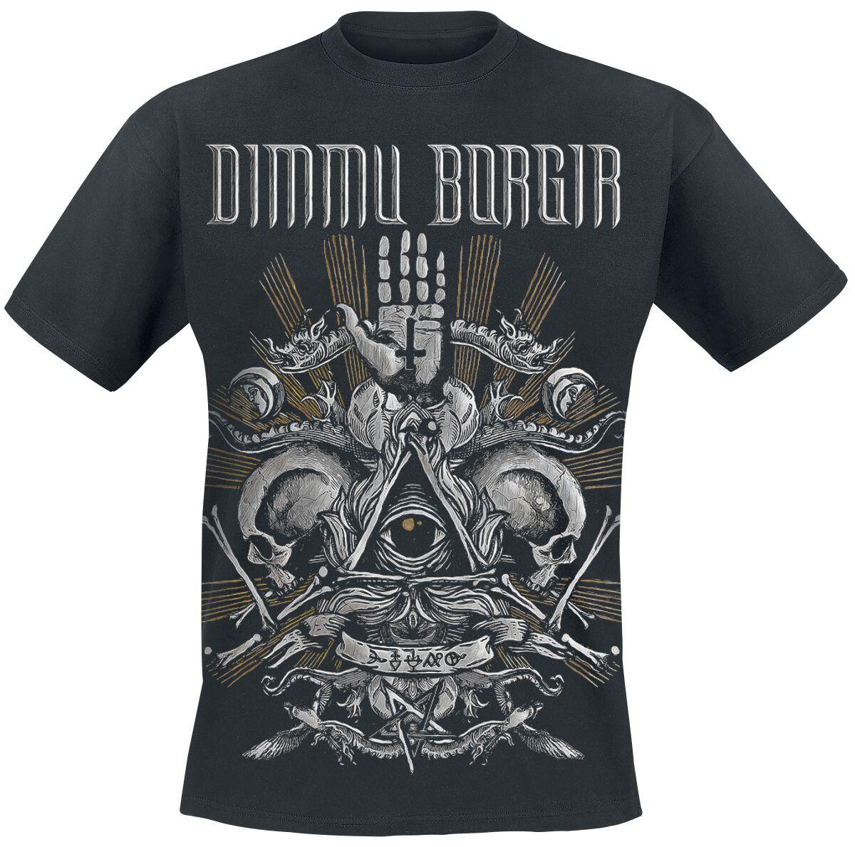 Zespoły - Koszulki - T-Shirt Dimmu Borgir Life is the Trial T-Shirt czarny - 356898