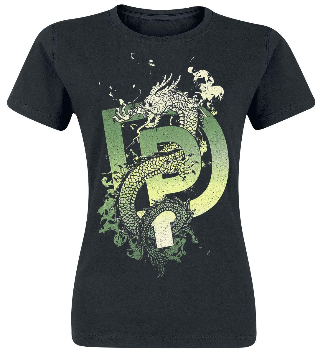 Zespoły - Koszulki - Koszulka damska Deep Purple Dragon Koszulka damska czarny - 356901