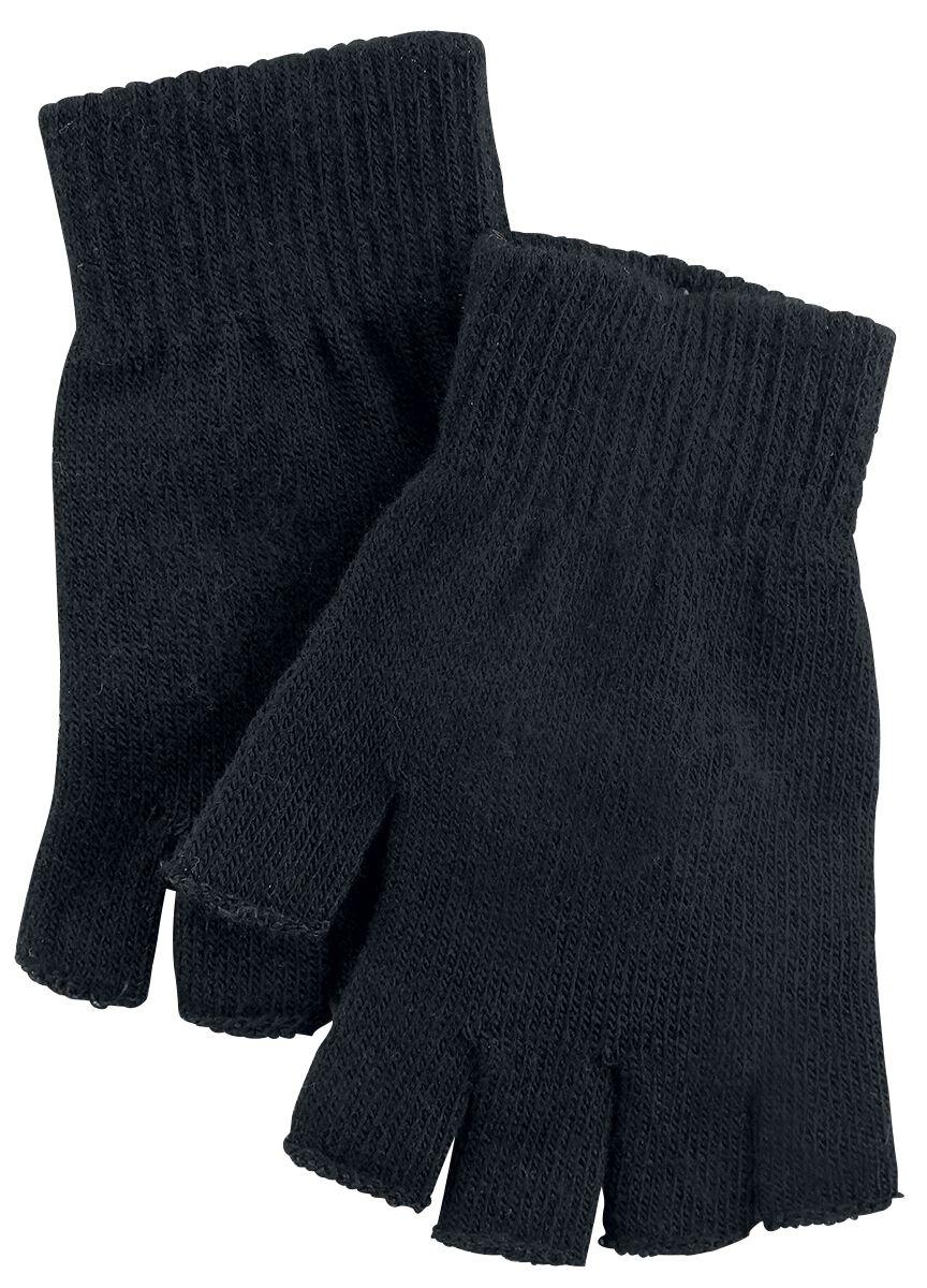 Basics - Szaliki i Rękawiczki - Rękawiczki bez palców Standard Black Rękawiczki bez palców czarny - 356905