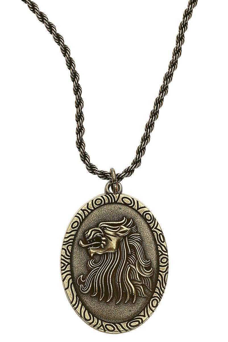 Image of   Game Of Thrones Cersei Lannister Halskæde guld