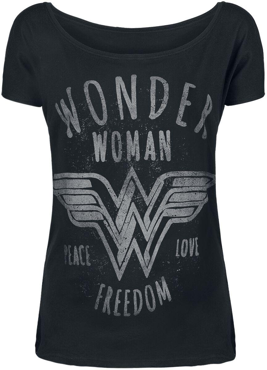 Wonder Woman Freedom Koszulka damska czarny