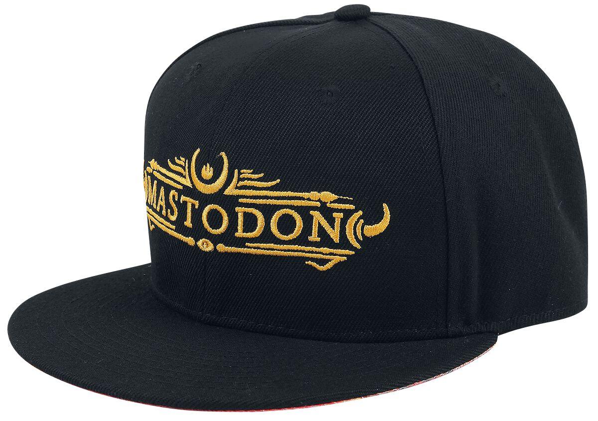 Zespoły - Czapki i Kapelusze - Czapka Snapback Mastodon Logo Czapka Snapback czarny - 356939