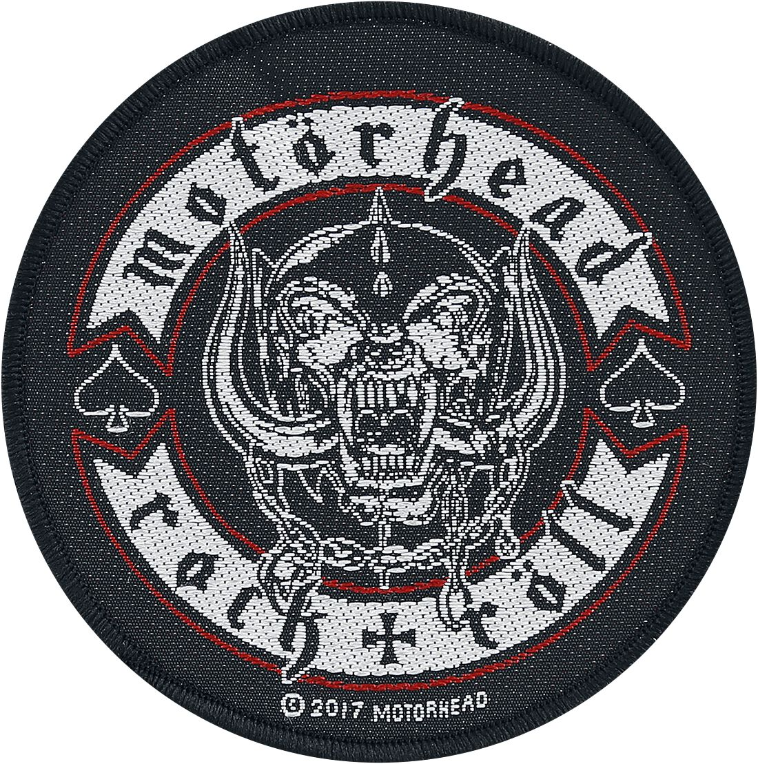 Image of   Motörhead Biker Badge Patch multifarvet