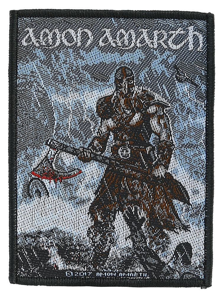 Image of   Amon Amarth Jomsviking Patch multifarvet