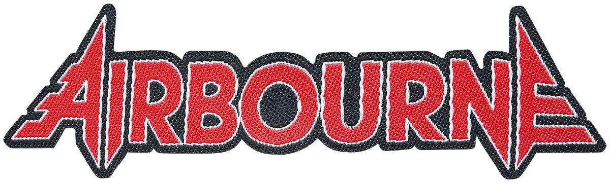 Zespoły - Naszywki - Naszywka Airbourne Logo Cut-Out Naszywka wielokolorowy - 356962