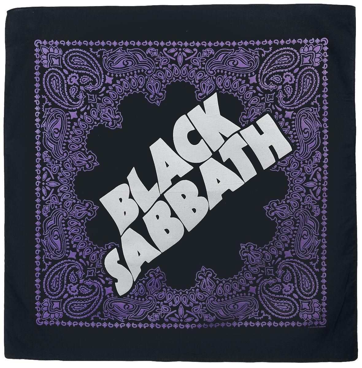 Image of   Black Sabbath Logo Bandana multifarvet