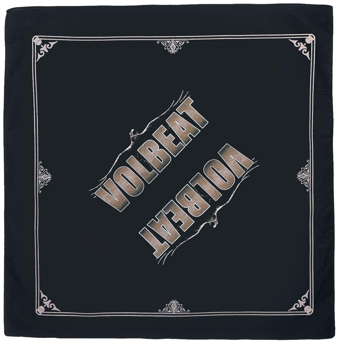 Zespoły - Czapki i Kapelusze - Bandana Volbeat Raven Logo Bandana wielokolorowy - 356968