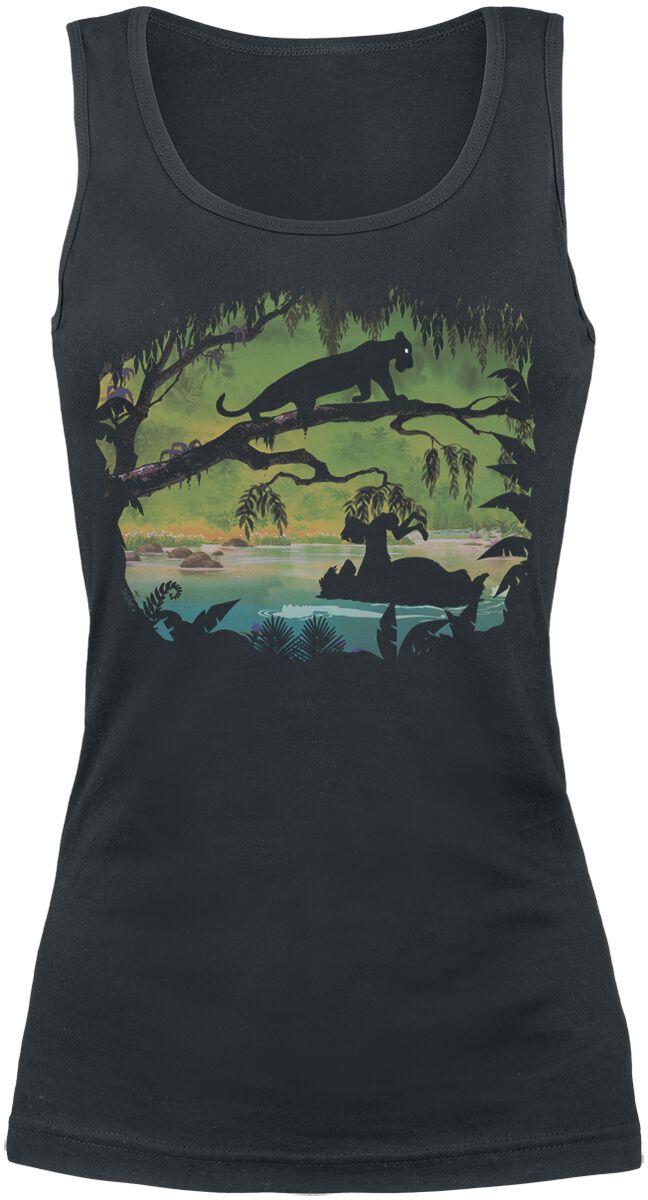 Merch dla Fanów - Topy - Top damski The Jungle Book In The Trees Top damski czarny - 356983