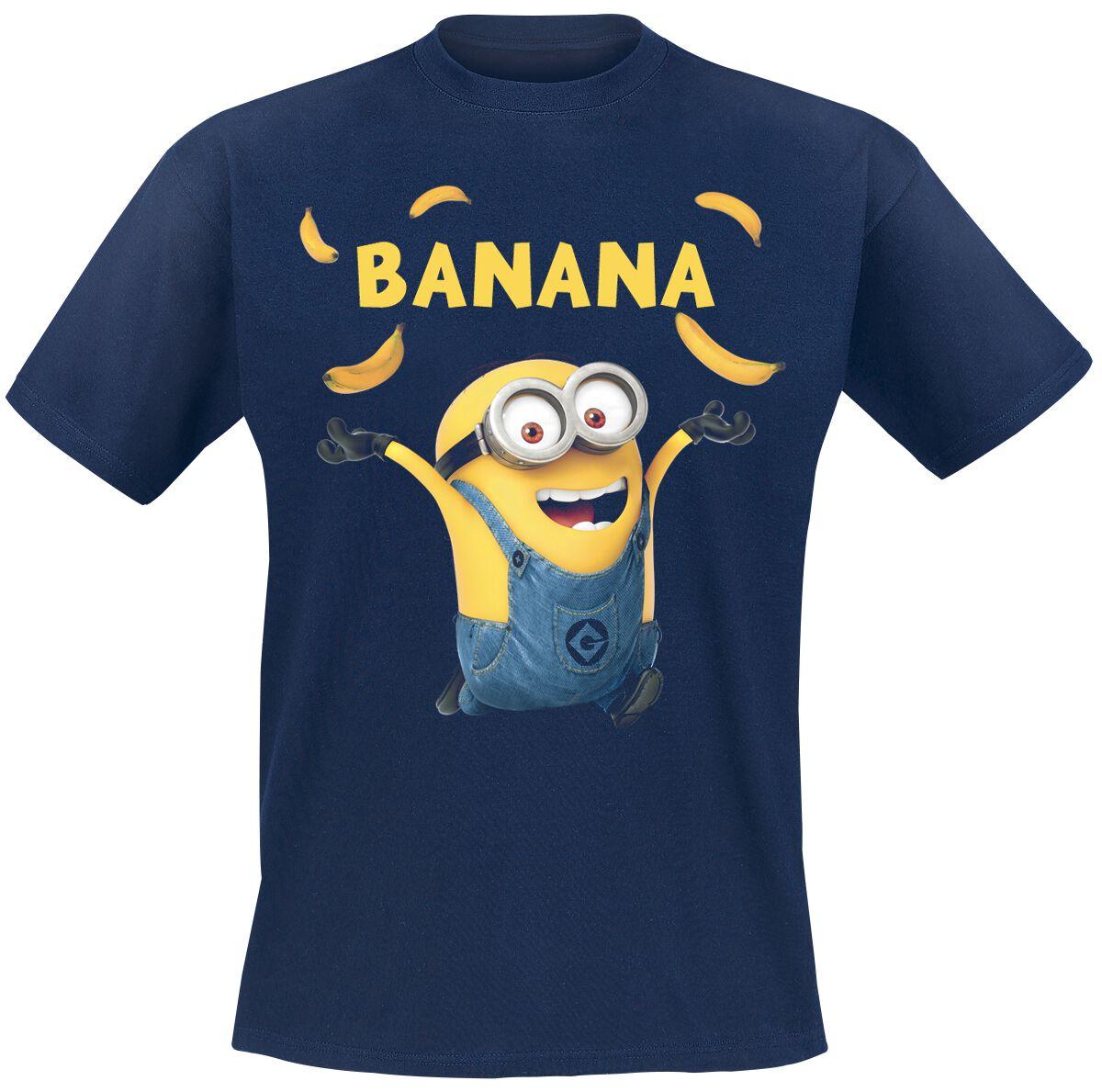 Image of   Minions Banana T-Shirt navy