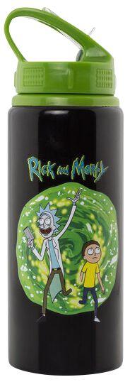 Image of   Rick And Morty Portal Drikkeflaske multifarvet