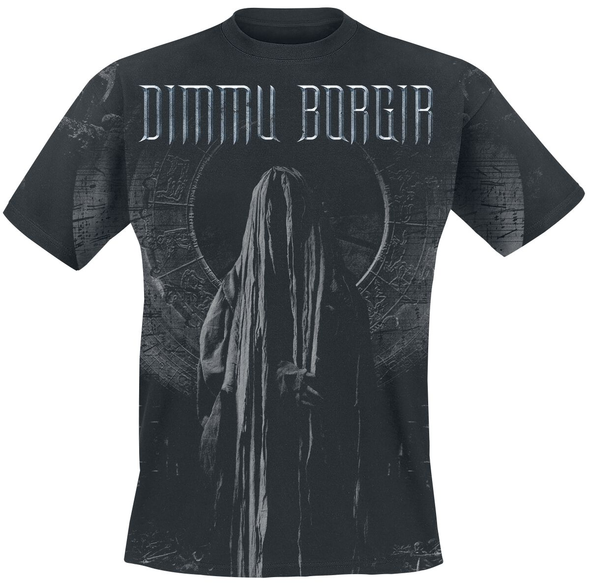 Zespoły - Koszulki - T-Shirt Dimmu Borgir Forces of the Northern Night Allover T-Shirt czarny - 357035