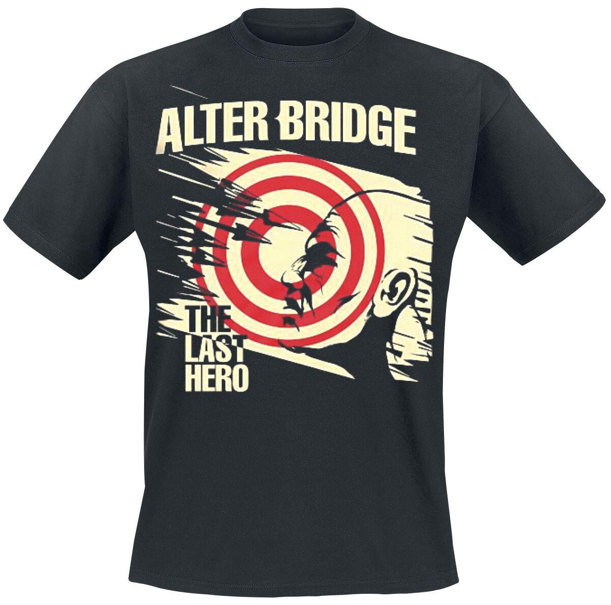 Zespoły - Koszulki - T-Shirt Alter Bridge The Last Hero T-Shirt czarny - 357052