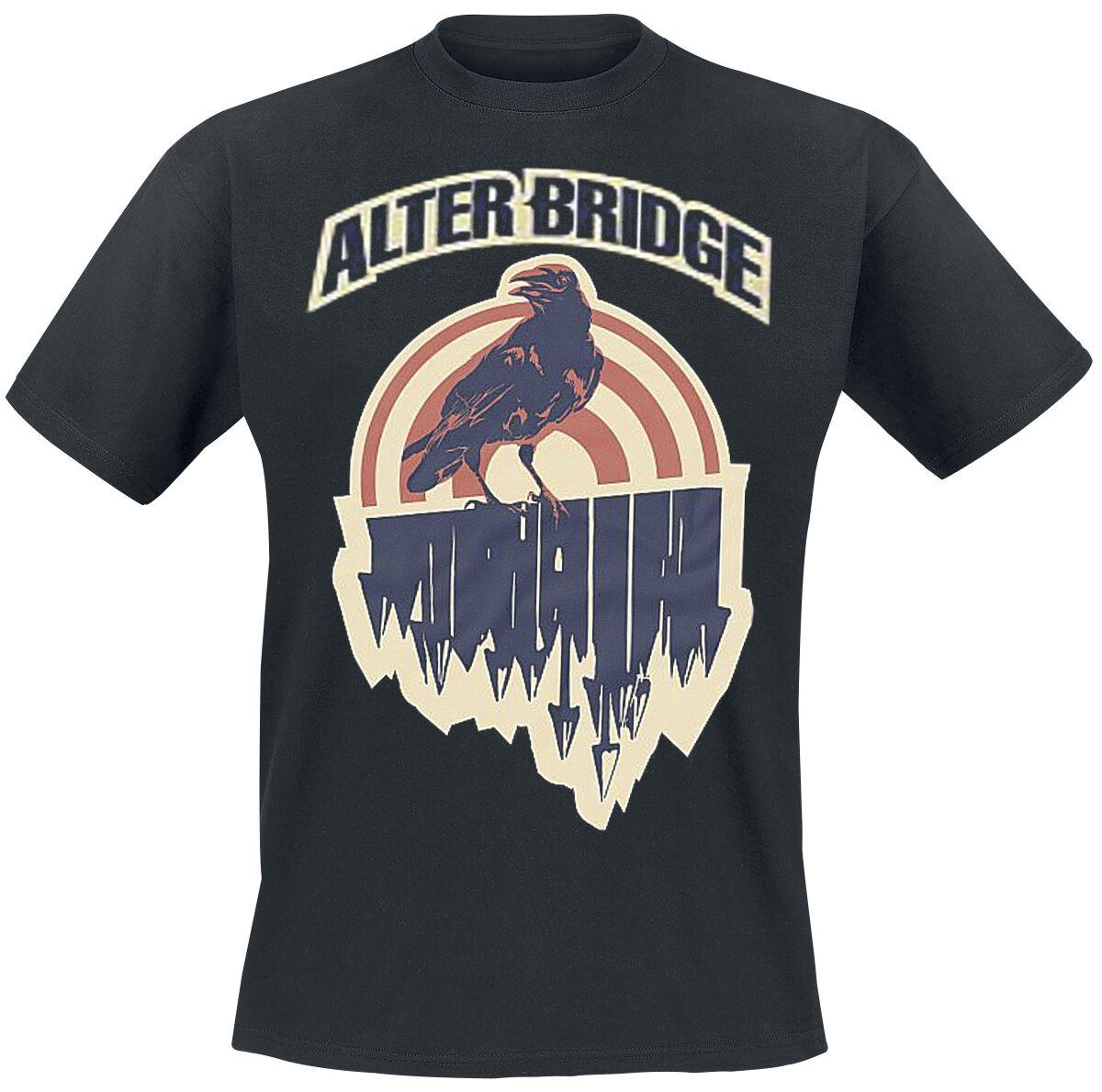 Zespoły - Koszulki - T-Shirt Alter Bridge Black Crow T-Shirt czarny - 357055